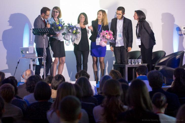 Copie de (Prix Femmes Digital Ouest Nantes Sept2015) Thierry Saurat Emilie Gieler Joanna Rolland Fabienne Lebrette Menager Sandrine(s)