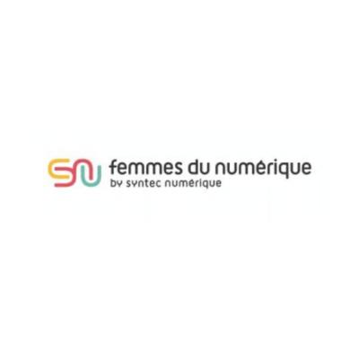 logo femmes numerique syntec carre