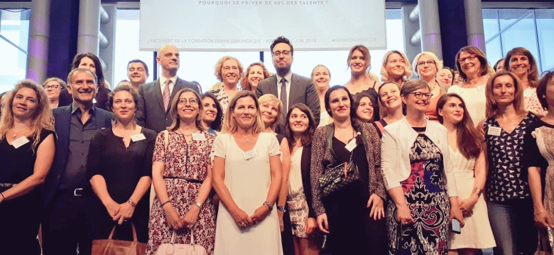 Inauguration Fondation Femmes@numerique