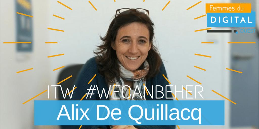 2020 FDO WeCanBeHer ITW Alix de Quillacq TW